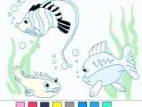 Раскраски: Рыбки