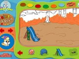 Flash игра для девочек Paint and Play: Looney Tunes