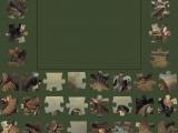 Пазлы: Охотники на привале