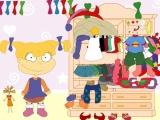 Flash игра для девочек Dress up Angelica from Rugrats