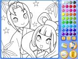 Manga Mania Coloring