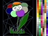 Раскраски: Flower 2