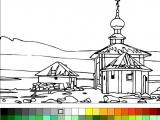 Раскраски: Church