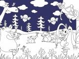 Раскраски: The Forest Concert - Лесной концерт