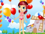 Игра Balloon Girl