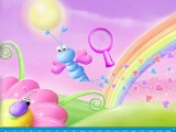 Rainbow Garden Hidden Numbers