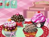Игра Delightful Cupcakes Deco