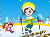 Cute Ski Girl