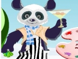 Panda Lounger Dress Up - Одень Панду!