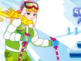Ski Girl Fashion - Новогодняя одевалка
