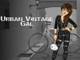 Urban Vintage Gal - Девушка в городе
