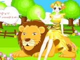 Star Dress Up 08 - Девушка и лев 8
