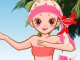 Flash игра для девочек Beach Fashion Dresses - Одевалка на пляже