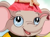 Игра Cute Elephant Dressup