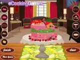 Украсьте шоколадный торт