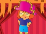 Игра Dora on Stage Dress Up