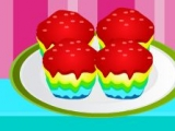 Make Rainbow Cupcakes