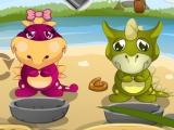 Игра Baby Dino Daycare