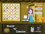 Food Roll Game Style Bow Dress