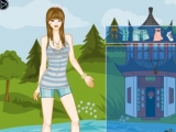 China Girl Dress Up Game