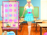 Barbie School Fashion