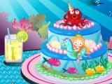 Mermaid Cake Decoration
