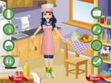 Chef Girl Dress up