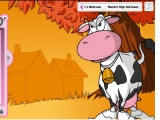 Cow dress up game