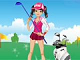 Golf Girl Dress Up