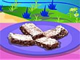 Flash игра для девочек Make Chocolate Brownies