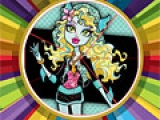 Monster High Round Puzzle