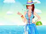 Barbie at the Beach Dress Up