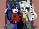 Chibi WereCat Sisters Dress Up