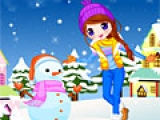 Joyful Snow Doll
