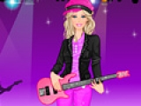 Barbie Rock Princess Dress Up
