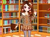 Girl in Library 2
