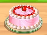 Make A Scrumptious Strawberry Cake