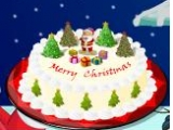 Cook Christmas Cake With Santa