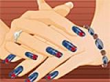 Nail Design At Spa