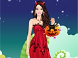 Игра Halloween Barbie Dress Up