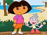 flash игра Objects Walking Dora Hidden Objects