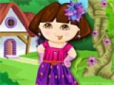 flash игра Dora Spring Dress Up