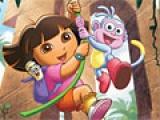 flash игра Dora Puzzle Fun