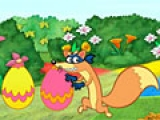 flash игра Dora Easter Egg Hunt