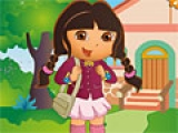 Игра Dora at School Dress Up