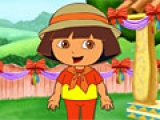 flash игра Cute Dora the Explorer