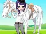 Girl and Horse Dress-Up