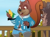 Sammy Squirrel Dress Up
