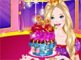 Barbie Glittery Cupcake