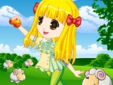 Sheep Herder Girl Dress-Up